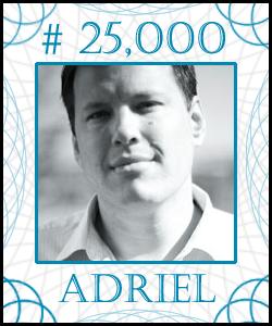 ADRIEL Stock Certificate #10,000