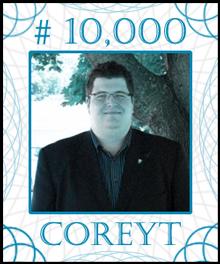 COREYT Stock Certificate #10,000