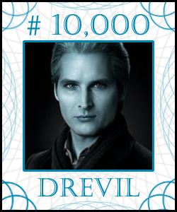 DREVIL Stock Certificate #10,000