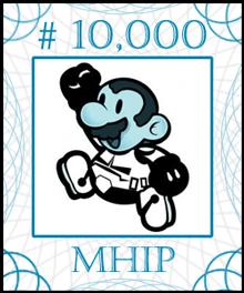 MHIP Stock Certificate #10,000