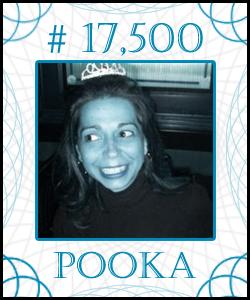 POOKA Stock Certificate #17,500